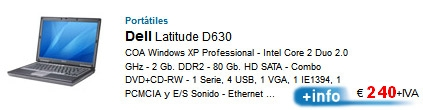Ordenadores portatiles remanofacturados de Ocasión.07