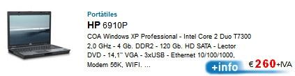 Ordenadores portatiles remanofacturados de Ocasión.09